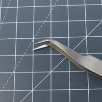 Anti Static Stainless Angled Tweezers